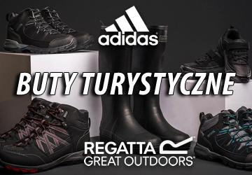 Buty turystyczne Regatta, Adidas!