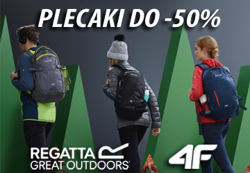 Plecaki do -50% Regatta 4F