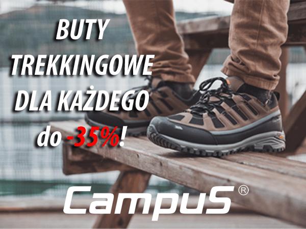 Buty trekkingowe, buty turystyczne, buty softshell Campus z do -35%!