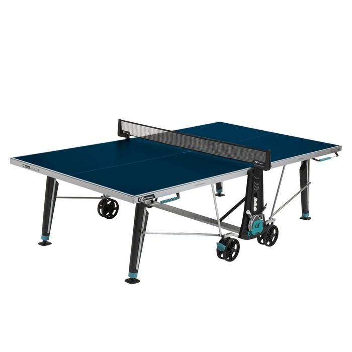 Stół tenisowy do ping ponga 400X DELTA OUTDOOR CORNILLEAU Niebieski