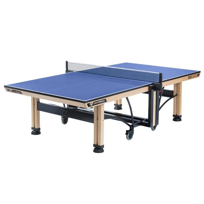 STÓŁ TENISOWY COMPETITION 850 WOOD ITTF INDOOR CORNILEAU Niebieski