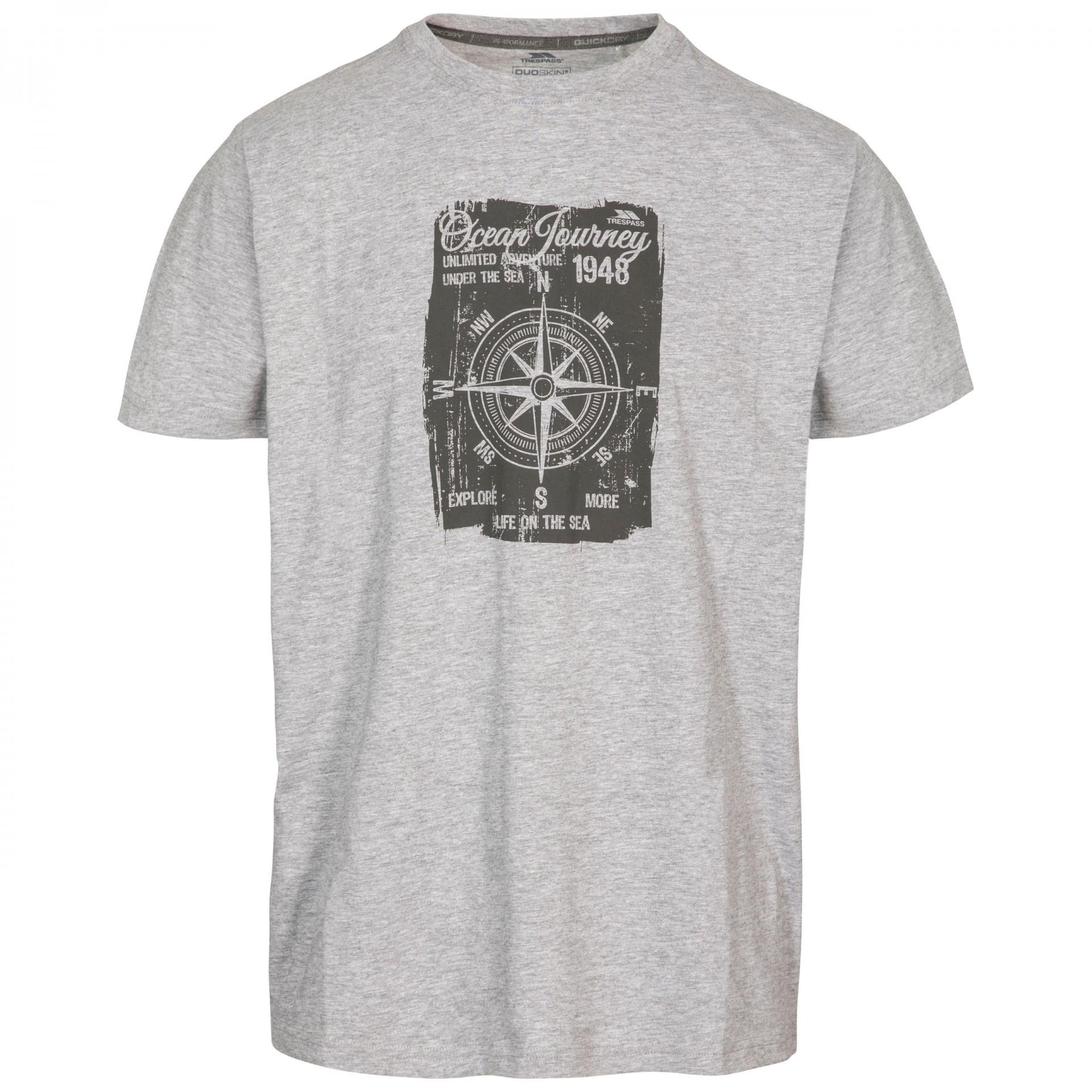 Koszulka męska COURSE TRESPASS Navy Marl