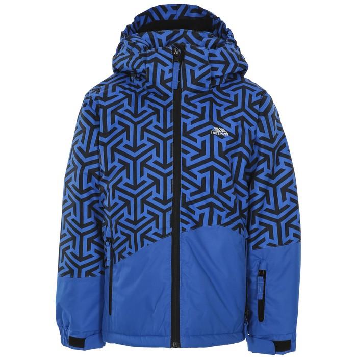 Kurtka narciarska dziecięca POINTARROW TP50 TRESPASS Blue Print