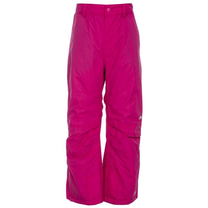 Spodnie narciarskie dziecięce CONTAMINES TP75 TRESPASS Pink Lady