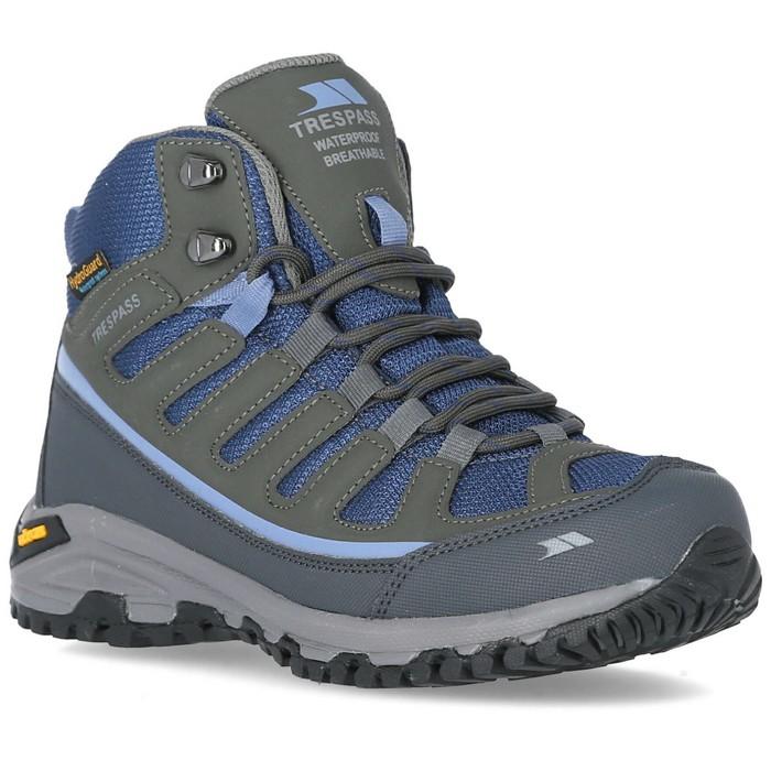 Buty trekkingowe damskie Vibram TENSING TRESPASS Steel/Blue Ice