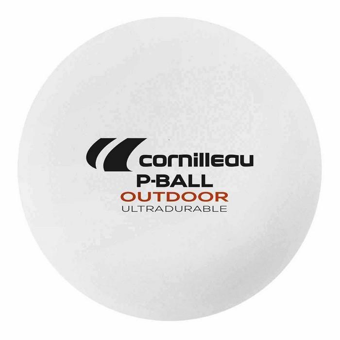 Piłeczki do tenisa stołowego (6 szt.) P-BALL OUTDOOR CORNILLEAU