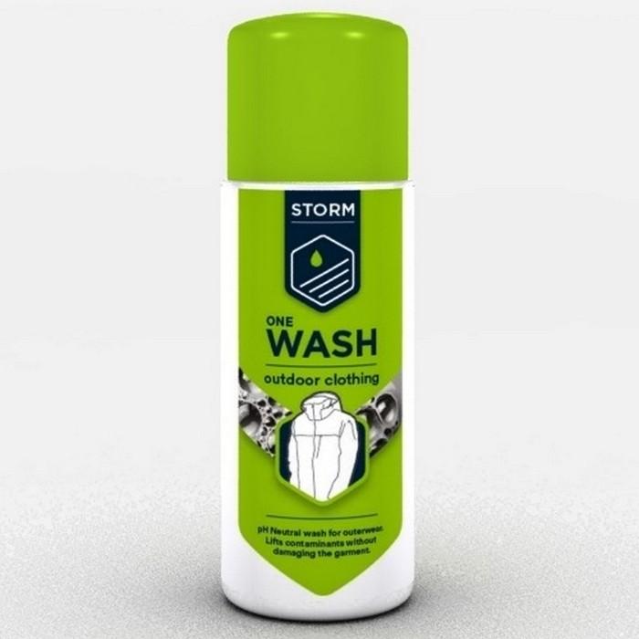 Środek czyszczący płyn do prania odzieży membranowej ONE WASH OUTDOOR CLOTHING 75ml S41101 STORM