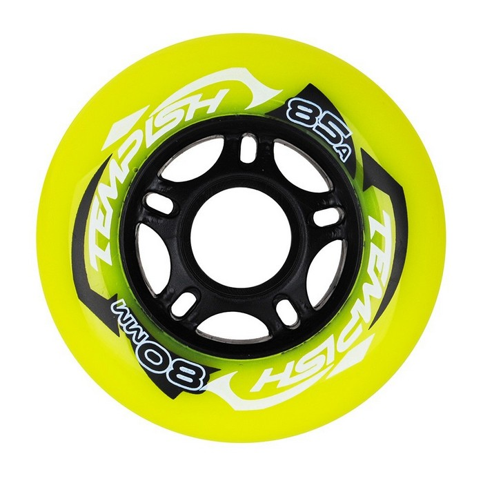KÓŁKA DO ROLEK 4 szt. RADICAL COLOR PU 84mm/84A GREEN TEMPISH