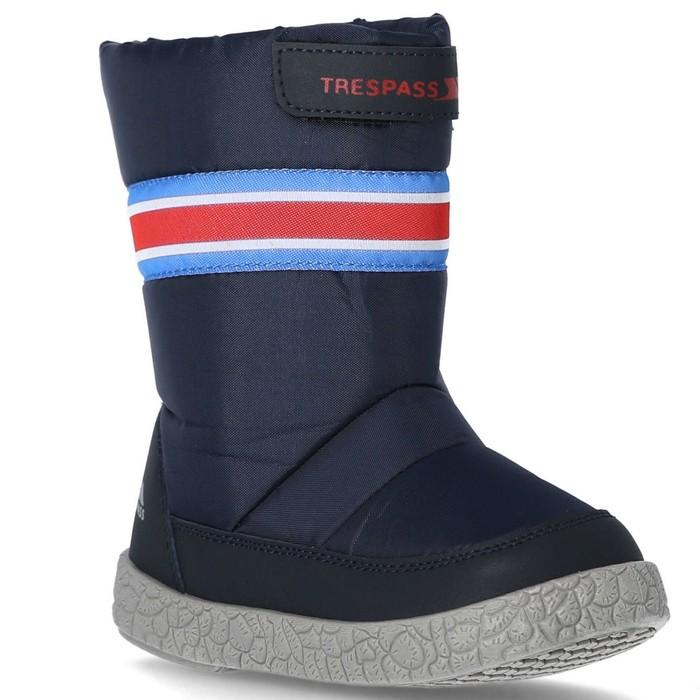Buty śniegowce dziecięce-niemowlęce ALFRED TRESPASS Navy