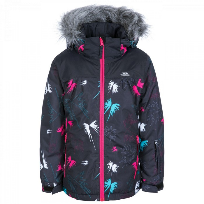Kurtka narciarska dziecięca BEEBEAR TP75 TRESPASS Black