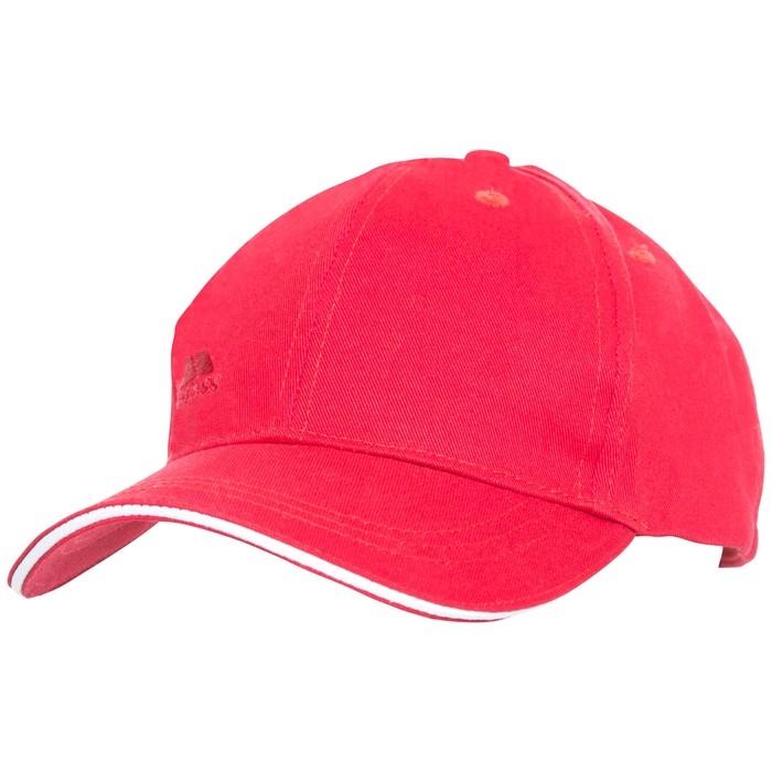 Czapka z daszkiem unisex CARRIGAN TRESPASS Red