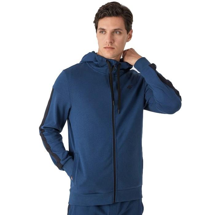 Bluza z kapturem męska H4Z21-BLM014 32S 4F