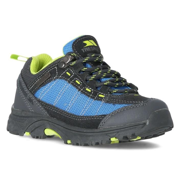 Buty turystyczne dziecięce HAMLEY TRESPASS Cobalt/Kiwi