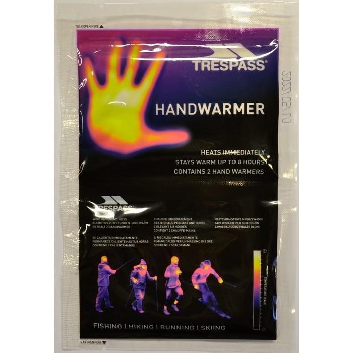 Ogrzewacze do rąk jednorazowe 2 szt. HANDWARMERS TRESPASS
