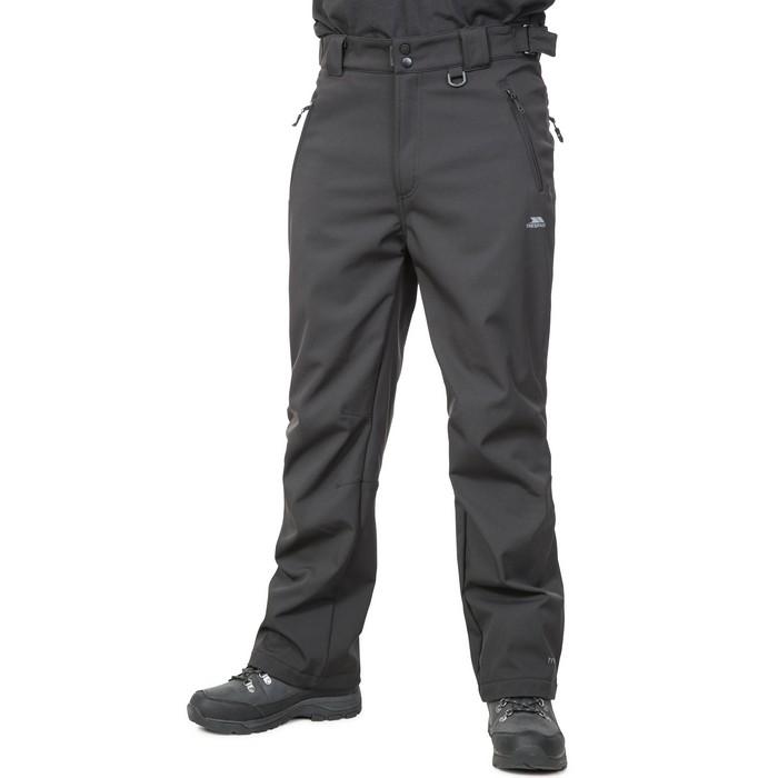 Spodnie trekkingowe softshell męskie HEMIC TP75 TRESPASS Black