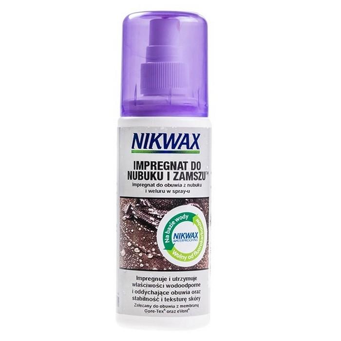 IMPREGNAT NIKWAX NUBUK & ZAMSZ SPRAY DO BUTÓW 125 ML NIKWAX