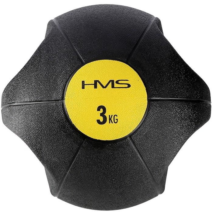 Piłka lekarska z uchwytamiI 3kg NKU03 HMS