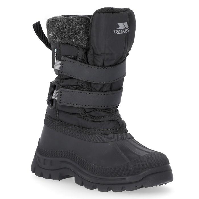 Buty śniegowce dziecięce STRACHAN II TRESPASS Black