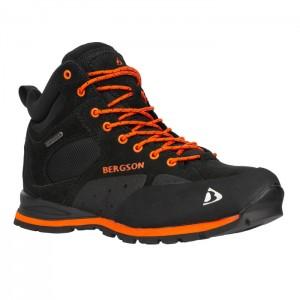 Buty trekkingowe damskie SOIRA MID STX BERGSON Black/Orange