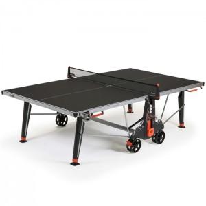 Stół tenisowy do ping ponga 500X OUTDOOR CORNILLEAU Czarny