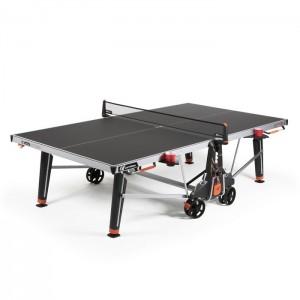 Stół tenisowy do ping ponga 600X OUTDOOR CORNILLEAU Czarny