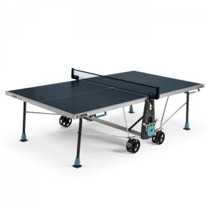 Stół tenisowy do ping ponga 300X DELTA OUTDOOR CORNILLEAU Niebieski