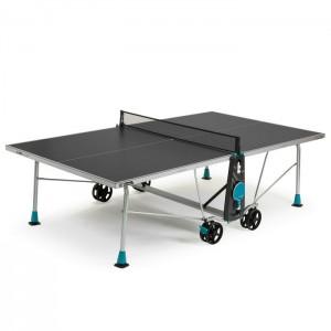 Stół tenisowy do ping ponga 200X OUTDOOR CORNILLEAU Szary
