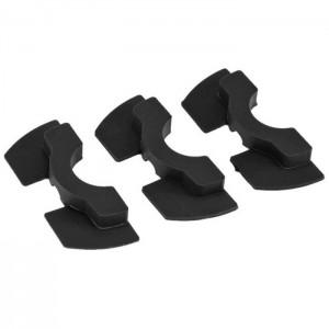 Zestaw 3 gumowych nakładek tłumiących do zawiasu kierownicy Xiaomi M365, M365 PRO 2, Essential