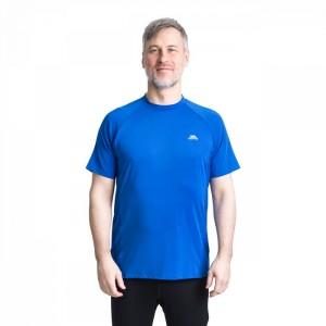 Koszulka techniczna męska CACAMA TRESPASS Blue