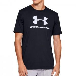 Koszulka techniczna męska UA SPORTSTYLE LOGO SS 1329590-001 UNDER ARMOUR