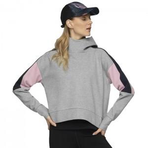 Bluza z kapturem damska HOL20-BLD604 27M OUTHORN