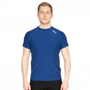 Koszulka techniczna męska COOPER DLX TRESPASS Blue Print Marl