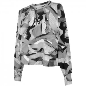 Bluza bez kaptura damska H4Z21-BLD021 90A 4F