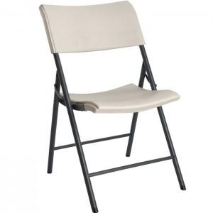 Krzesło składane półkomercyjne 80142 LIFETIME Migdałowy