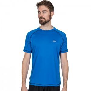 Koszulka treningowa męska ALBERT TP50 TRESPASS Blue
