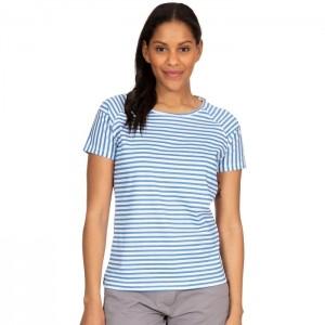 Koszulka damska ANI TRESPASS Ocean Stripe