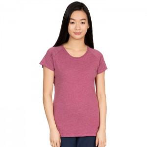 Koszulka treningowa damska BENITA TRESPASS Berry Marl