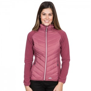 Bluza hybrydowa damska BOARDWALK TRESPASS Dark Rose