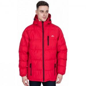 Kurtka pikowana zimowa męska CLIP TRESPASS Red