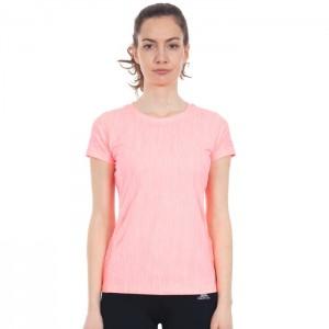 Koszulka techniczna damska DAFFNEY TP75 TRESPASS Neon Coral Marl