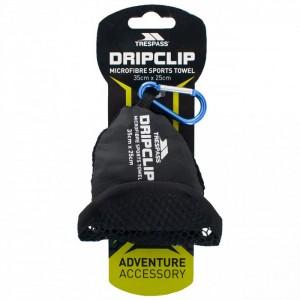 RĘCZNIK SPORTOWY DRIPCLIP 35x25cm BLUE TRESPASS