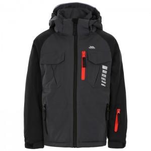 Kurtka narciarska dziecięca FREEBORED TP75 TRESPASS Dark Grey