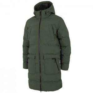 Płaszcz zimowy pikowany męski H4Z21-KUMP008 41S 4F