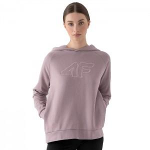 Bluza z kapturem damska H4Z21-BLD026 52S 4F