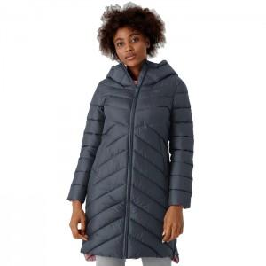 Płaszcz zimowy pikowany damski H4Z21-KUDP010 24S 4F