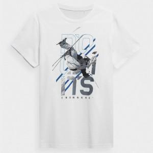 Koszulka męska H4Z21-TSM018 10S 4F