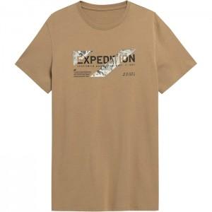 Koszulka męska H4Z21-TSM025 82S 4F