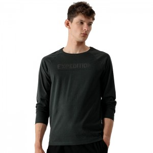 Koszulka longsleeve męski H4Z21-TSML010 43S 4F
