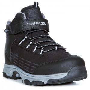 Buty trekkingowe dziecięce HARRELSON MID TRESPASS Black