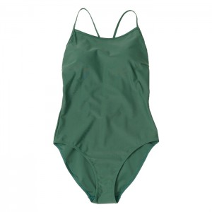 Strój kąpielowy jednoczęściowy damski HOL21-KOSP600 40S OUTHORN